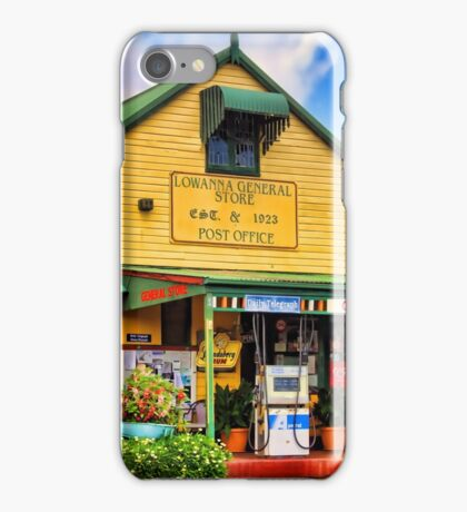 Lowanna General Store iPhone Case/Skin