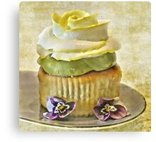 Cupcakes Take The Cake By CJ Anderson Canvas Print