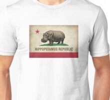 Hippofornia State Flag Unisex T-Shirt