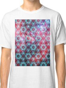 Spiderman Nebula [Happy Blue] | Sacred Geometry Patterns Classic T-Shirt