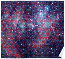 Spiderman Nebula Version 4 | Sacred Geometry Patterns Poster