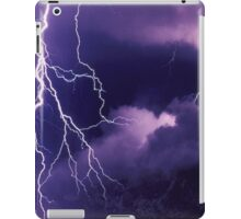 Storm Clouds and Lightning iPad Case/Skin