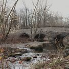 The Stone Arch Bridge Over The Unami Creek at Sumneytown PA USA by MotherNature