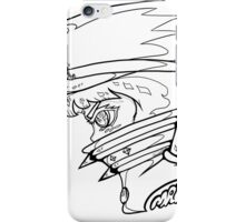FIGHT CLUB MAKO B/W iPhone Case/Skin