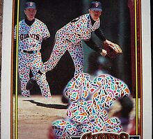 239 - Mike LaCoss by Foob's Baseball Cards