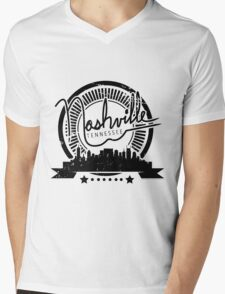 Nashville, Tennessee Mens V-Neck T-Shirt