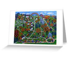 Kington Parva - Somewhere Over the Rainbow Greeting Card