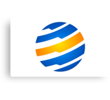 circle-sphere-global-logo Canvas Print