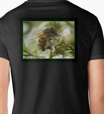 Pollin Booth Mens V-Neck T-Shirt