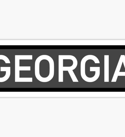 Georgia C Sticker