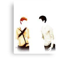 Newt & Thomas: No Quote Canvas Print