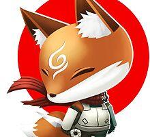 Anbu Fox by wenart