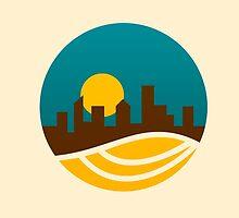 city-landscape logo by mydigitall
