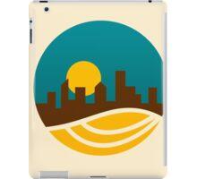 city-landscape logo iPad Case/Skin