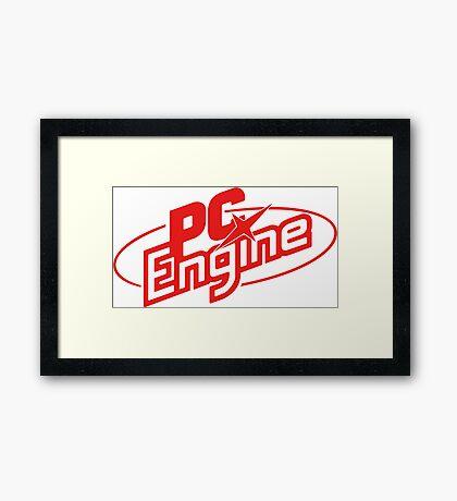 PC Engine Framed Print