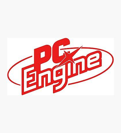PC Engine Photographic Print