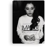 Ariana Grande Canvas Print