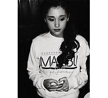 Ariana Grande Photographic Print