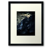Blackbag Mountain Framed Print