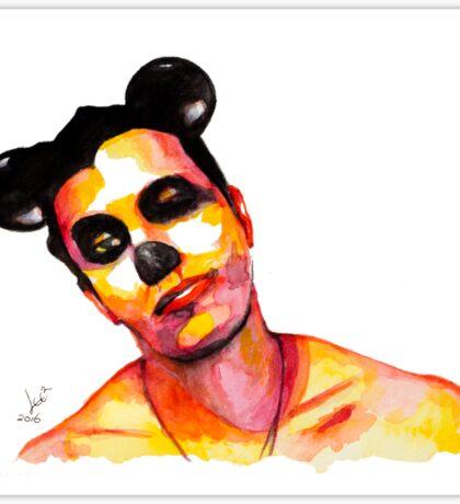 Mickey Man Sticker