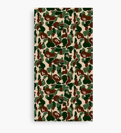 bape army Canvas Print