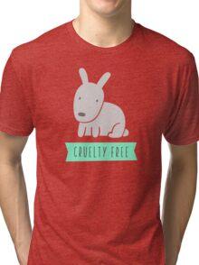 Rabbit cruelty free Tri-blend T-Shirt
