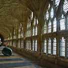 Abbey of Gloucester - England by Arie Koene