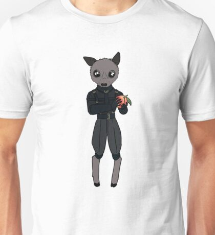 Little Batbat, with Peach Unisex T-Shirt