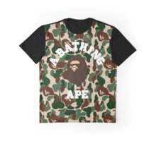 A BATHING APE ARMY CAMO Graphic T-Shirt