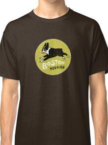 Vintage Style Boston Terrier Classic T-Shirt