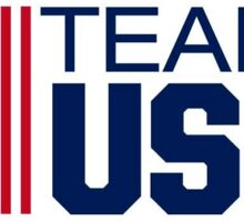 Team USA Olympics 3 Sticker