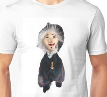 Befana, witch with flying broom Unisex T-Shirt