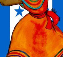 Tu Bandera Es Un Lampo De Cielo Sticker