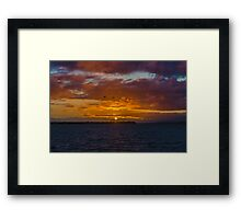 Now the Day is Over..... Framed Print