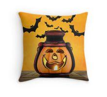 Pumpkin lantern Throw Pillow