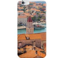 Rooftops of Trogir, Croatia. iPhone Case/Skin