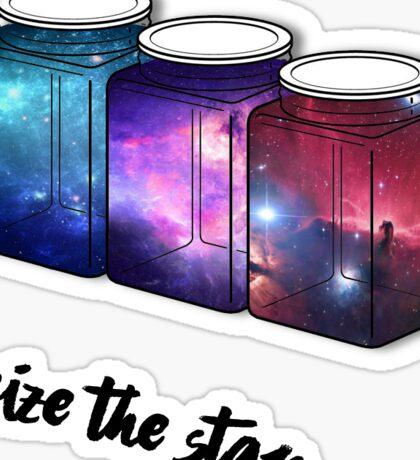 Space Jars Sticker