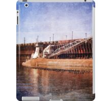 Vintage Great Lakes Freighter iPad Case/Skin