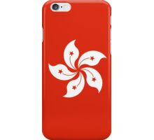 Hong Kong Flag - Umbrella Movement iPhone Case/Skin