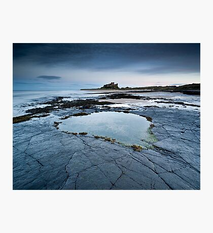 Bambrough Castle, Northumberland Photographic Print