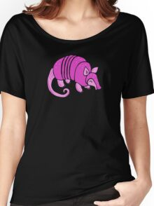 Pink Armadillo Women's Relaxed Fit T-Shirt
