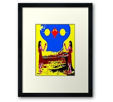 COMING INTO LAND Framed Print