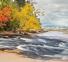 Hurricane Meets Superior by Kenneth Keifer
