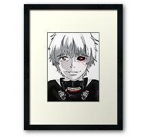 Kaneki Ken (B&W) Framed Print