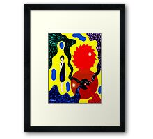 CAN OF WORMS Framed Print