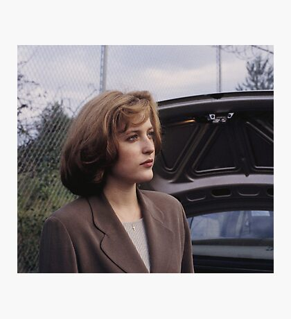Dana Scully in show  Photographic Print