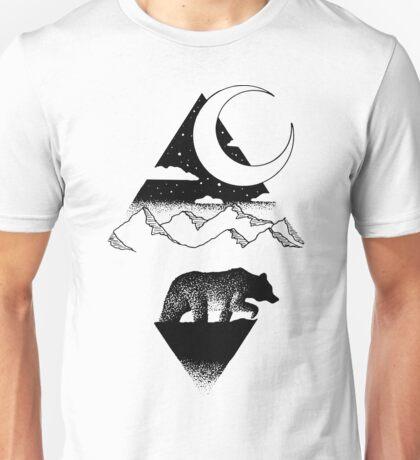 Moonlit Bear Unisex T-Shirt