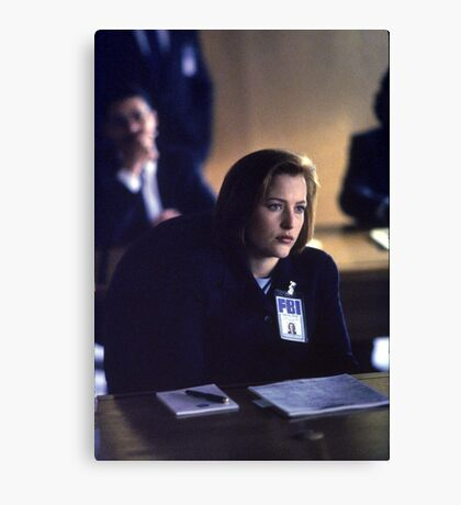 Dana Scully in show 2 Canvas Print