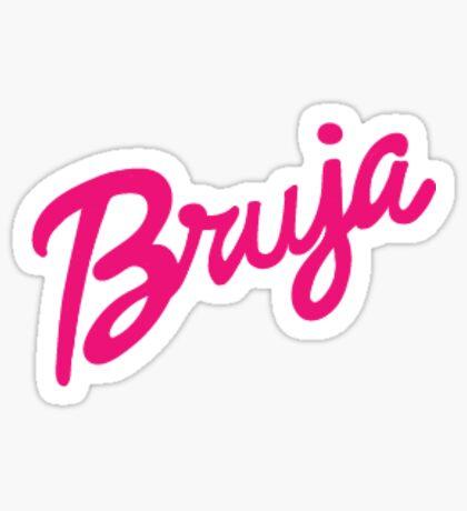 Bruja Sticker