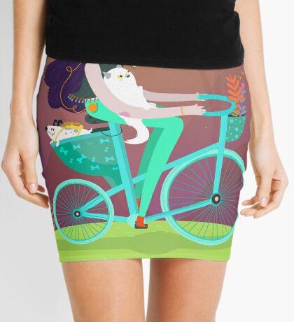 Vacation trip Mini Skirt
